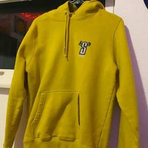Stussy Yellow Medium Hoodie